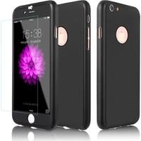 CaseUp Apple iPhone 6S Kılıf Gövde Koruyucu Set Kırılmaz Cam