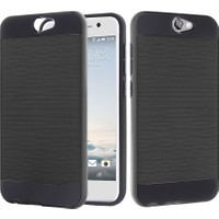 CaseUp HTC One A9 Kılıf Çift Katman Korumalı Kırılmaz Cam