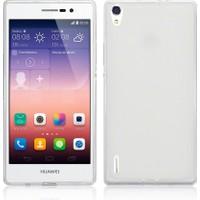 CaseUp Huawei P7 clear Soft Şeffaf kılıf Kırılmaz Cam