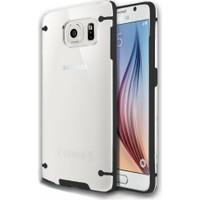 CaseUp Hybrid Transparant Samsung Galaxy S6 Kılıf Cam