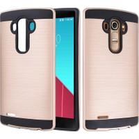 CaseUp LG G4 Kılıf Çift Katman Korumalı Kırılmaz Cam