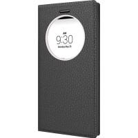 CaseUp LG G4C Kılıf Akıllı Modlu İnce Kapaklı Pencereli Deri Cam