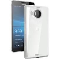 CaseUp Miscrosoft Lumia 950 XL Kılıf Transparent Soft Kırılmaz Cam