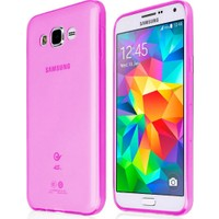CaseUp Samsung Galaxy Core Prime Kılıf İnce Silikon Kırılmaz Cam
