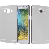 CaseUp Samsung Galaxy E5 Kılıf Metal Korumalı Cam