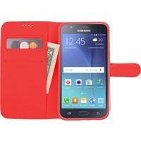 CaseUp Samsung Galaxy J5 Kılıf Cüzdanlı Suni Deri Cam