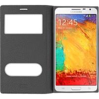 CaseUp Samsung Galaxy Note 3 Kılıf Kapaklı Çift Pencereli Cam