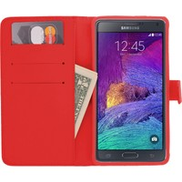 CaseUp Samsung Galaxy Note 4 Kılıf Cüzdanlı Suni Deri Cam