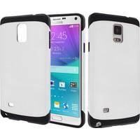 CaseUp Samsung Galaxy Note 4 Kılıf Çift Katmanlı Tam Koruma Kırılmaz Cam