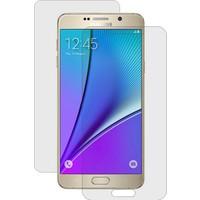 CaseUp Samsung Galaxy Note 5 Ön + Arka Kavisler Dahil Tam Ekran Kaplayıcı Film Kırılmaz Cam