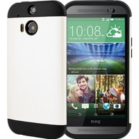 CaseUp Slim Fit Dual Layer Ar HTC One M8s Kılıf Cam