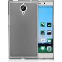 CaseUp Transparent Soft General Mobile Discovery Elite kılıf Cam