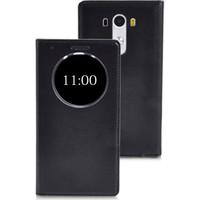 CaseUp View Slim kapaklı Deri LG G3 Mini (G3 S, G3 Beat) kılıf Akıllı Modlu Cam