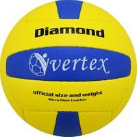 Vertex Diamond Dikişli 5 No Voleybol Topu Sarı Mavi