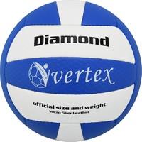 Vertex Diamond Dikişli 5 No Voleybol Topu Mavi-Beyaz
