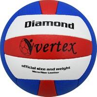 Vertex Diamond Dikişli 5 No Voleybol Topu Mavi-Kırmızı