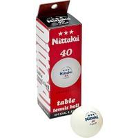 Nittaku Nb-1902 Select 40+ Ittf Onaylı 3 Lü Masa Tenisi Topu
