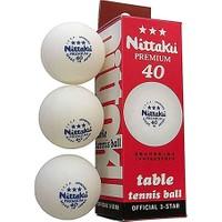 Nittaku Nb-1212 Premium 40+ Ittf Onaylı 3 Lü Masa Tenisi Maç Topu