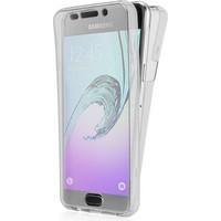 Eiroo Protection Samsung Galaxy A5 2016 360 Derece Koruma Şeffaf Silikon Kılıf