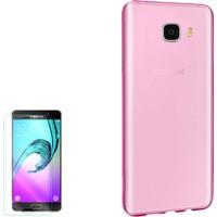 Gpack Samsung Galaxy C7 Kılıf 0.2Mm Silikon + Cam