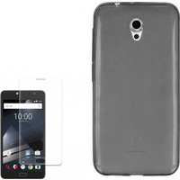 Gpack Vodafone Smart Style 7 Kılıf 0.2Mm Silikon + Cam