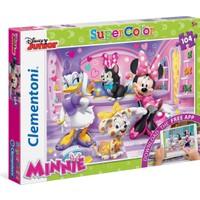 Clementoni Puzzle 104 + Web Uygulamalı Minnie