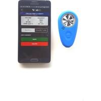 Hava Hızı/Debisi & Sıcaklık/Nem Akıllı Ölçüm Cihazı