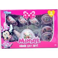 Disney Minnie Mouse 11 Parça Metal Çay Seti