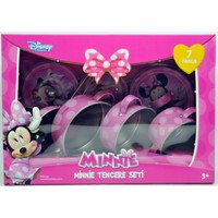 Disney Minnie Mouse 7 Parça Metal Tencere Seti