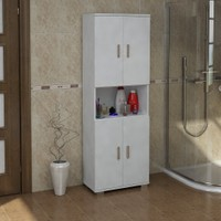 Sanal Mobilya Sorrento Çok Amaçlı Banyo Dolabı G1-K4-K4