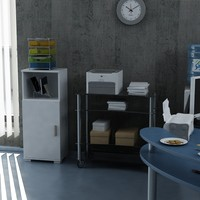 Sanal Mobilya Sorrento Çok Amaçlı Ofis Dolabı G6-K5
