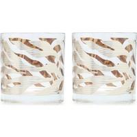 Beymen Home Egizia Box Of 2 Glasses Anımalıer Ze Gümüş Bardak Seti