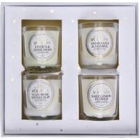 Beymen Home Voluspa 4 Votıve Candle Set Maıson Ja Beyaz Mum