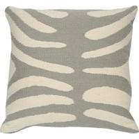 """Beymen Home Jonathan Adler Pop Zebra Pillow 16""""x16"""" Açık Gri Dekoratif Yastık"""