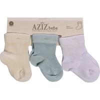 Azız Bebe 3Lü Çorap