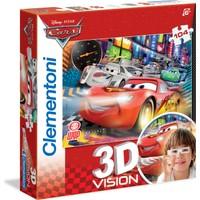 Clementoni Kids Puzzle 104 Parça 3D Cars