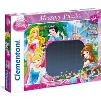 Disney Prensesler 104 Parça Mesaj Puzzle (Clementoni)