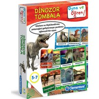 Clementoni Oyna Ve Öğren Dinozor Tombala 5-7 Yaş
