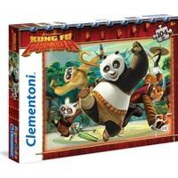 Clementoni Kung Fu Panda 104 Parça Puzzle (Supercolor)