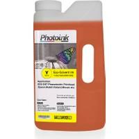 Photo Ink Dx5 ve Dx7 Kafalar İçin 1000 Ml Sarı Yellow Eco Solvent Mürekkep