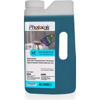 Photo Ink Dx5 ve Dx7 Kafalar İçin 1000 Ml Açık Mavi Light Cyan Eco Solvent Mürekkep