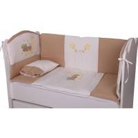 Babyhope Bebek Uyku Seti - Ayüstünde Ayı Kahverengi 60*120