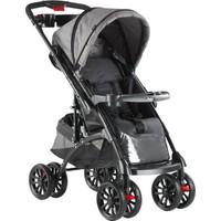 Babyhope Bh609-50 Polo Çift Yönlü Bebek Arabası - Siyah Gri