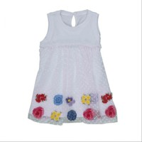 Bebepan 8574 Colors Tüllü Elbise Orjinal Renk 12-18 Ay