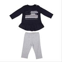 Bebepan Star Şeritli Bluz Tayt Tk Orjinal 12-18 Ay