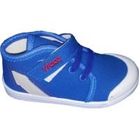 Vicco Bebe Keten Ayakkabı 205.U.231 Saks Mavi / 25