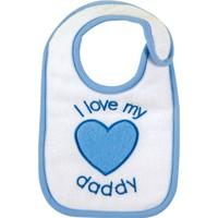 Bebedor Kalpli Önlük Mavi - Beyaz