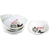 iHouse Prt-1020 Çorba Kasesi 6 Lı Set Krem