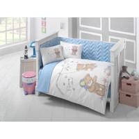 Clasy Masalv2 Ranforce Bebek Uyku Seti Tek Kişilik Mavi