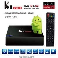 K2 Plus Pro 4K Android Uydu Alıcısı